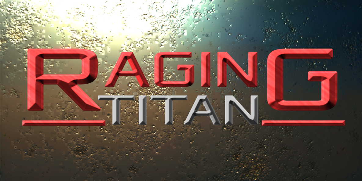 Raging Titan Game Logo